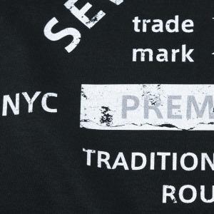 アメカジ/セブンスクローラー/メンズ Tシャツ 半袖/正規品 ブラック|vividstyle|03