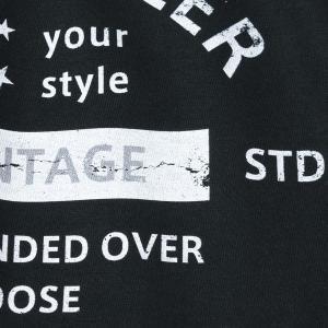 アメカジ/セブンスクローラー/メンズ Tシャツ 半袖/正規品 ブラック|vividstyle|06