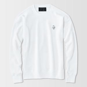 アメカジ/セブンスクローラー/メンズ トレーナー/あったか裏起毛 正規品 ホワイト|vividstyle|02