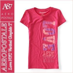 エアロポステール/レディース Tシャツ 半袖/正規品 ピンク...