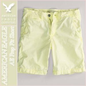 アメリカンイーグル/メンズ ハーフパンツ ショートパンツ/正規品 イエロー|vividstyle