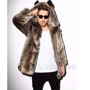 上着 ジャケット 男性用 ファーコート メンズ ショートコート おしゃれ アウター 暖かい 美品 長袖 防寒 防風 かっこいい 毛皮コート 人気 上質 コートの画像