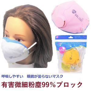 即納可 マスク 大人用 立体型 多目的機能性マスク 微細粉塵・黄砂・有害性粉塵 99%ブロック