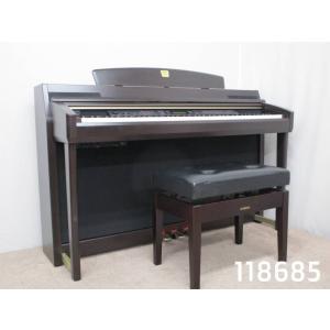 電子ピアノ 中古 ヤマハ クラビノーバ CLP-280 2005年製 118685 ※1都3県のみ送...