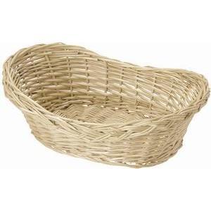 柳バスケット(丸型・オーバル型) 43-11の写真