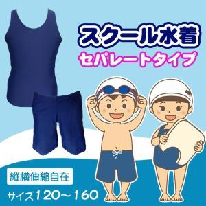スクール水着 セパレート 女の子 女子 上下セパレート型 女児 キッズ ジュニア 上下セット 小学生 日本製 120cm 130cm 140cm 150cm 160cm ネコポス便対応|vogue-premium