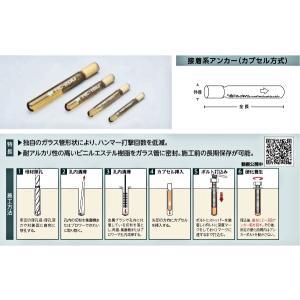 ユニカ(株) 接着系アンカー(打込み型)HC-...の詳細画像1