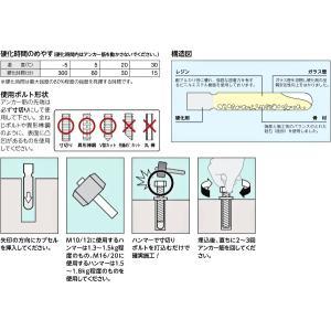 ユニカ(株) 接着系アンカー(打込み型)HC-...の詳細画像2