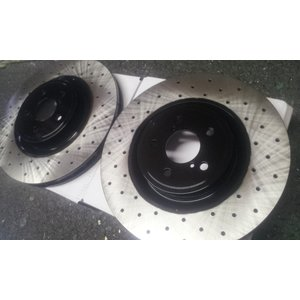ブレーキローターオプションカラー 全体ブラック塗装|voing-sp