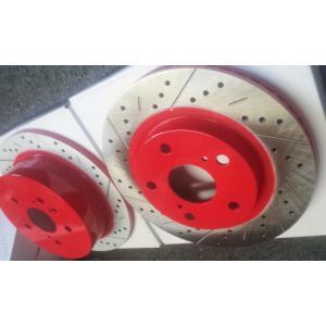 ブレーキローターオプションカラー レッド塗装|voing-sp