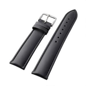 アレス 腕時計用ベルト メンズ 19mm 19mm ALLES パーツ レザー ブラック|vol8