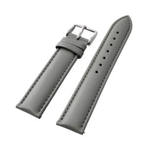 アレス 腕時計用ベルト メンズ 19mm 19mm ALLES パーツ レザー グレー|vol8