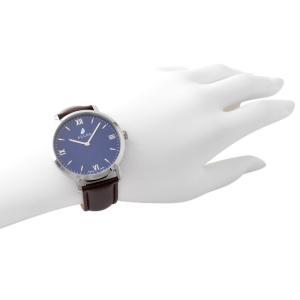 アレス 腕時計用ベルト メンズ 19mm 19mm ALLES パーツ レザー ダークブラウン|vol8|04