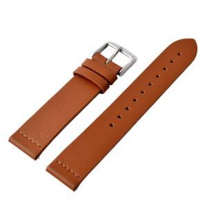 アレス 腕時計用ベルト メンズ 19mm 19mm ALLES パーツ ライトブラウン/シルバー|vol8