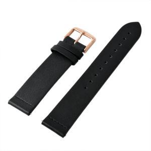 アレス 腕時計用ベルト メンズ 19mm 19mm ALLES パーツ ブラック/ローズゴールド|vol8