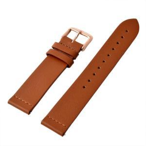 アレス 腕時計用ベルト メンズ 19mm 19mm ALLES パーツ ライトブラウン|vol8