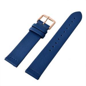 アレス 腕時計用ベルト メンズ 19mm 19mm ALLES パーツ ブルー/ローズゴールド|vol8