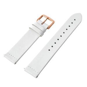 アレス 腕時計用ベルト メンズ 19mm 19mm ALLES パーツ ホワイト/ローズゴールド|vol8