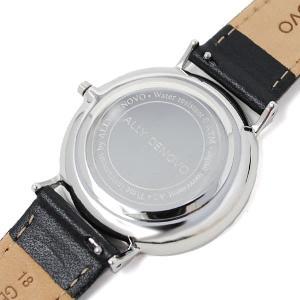 アリーデノヴォ 腕時計 メンズ&レディース ALLY DENOVO レザー|vol8|04