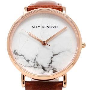 アリーデノヴォ 腕時計 レディース ALLY DENOVO レザー vol8 02