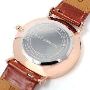 アリーデノヴォ 腕時計 レディース ALLY DENOVO レザー vol8 04