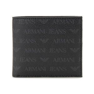 アルマーニジーンズ 二つ折り財布 メンズ Armani Jeans ブラック|vol8