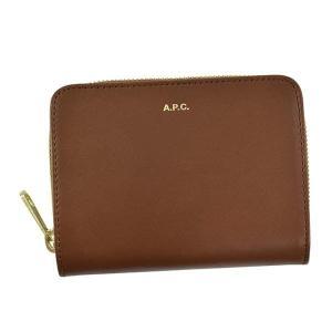 アーペーセー 二つ折り財布 レディース&メンズ APC レザー BR|vol8