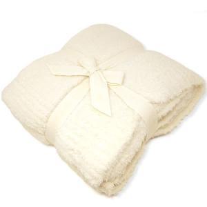 ベアフットドリームス シングルブランケット レディース&メンズ BAREFOOT DREAMS Cream|vol8