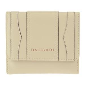 ブルガリ 二つ折り財布 レディース BVLGARI アイボリー vol8