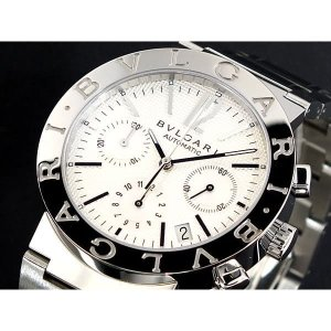 ブルガリ 腕時計 メンズ BVLGARI BVLGARI BVLGARI クロノグラフ ホワイト vol8
