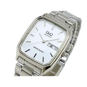 シチズン 腕時計 メンズ Q&Q CITIZEN ホワイト/シルバー|vol8
