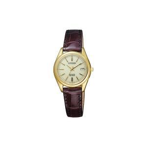シチズン 腕時計 レディース CITIZEN ゴールド/シャンパン/ブラウン vol8