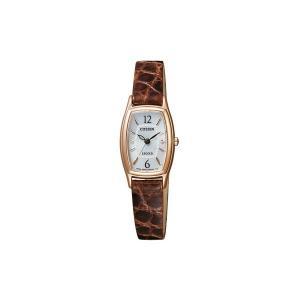 シチズン 腕時計 レディース CITIZEN ピンクゴールド/シルバー/ブラウン vol8