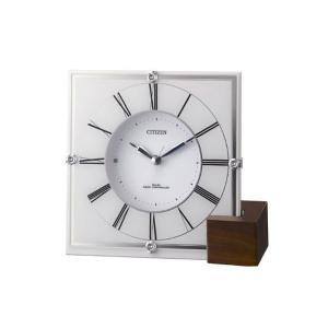 シチズン 置き時計 おき時計 メンズ&レディース マリアージュ CITIZEN 電波 vol8