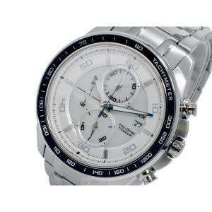 シチズン 腕時計 メンズ エコドライブ CITIZEN クロノグラフ ホワイト/シルバー|vol8