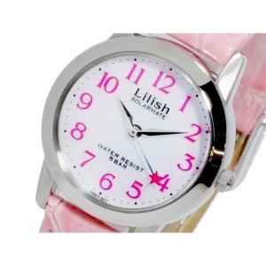 シチズン 腕時計 レディース リリッシュ CITIZEN レザー ソーラー ホワイト/ピンク|vol8