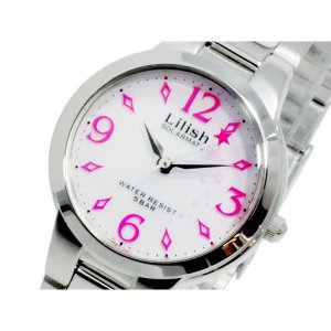 シチズン 腕時計 レディース リリッシュ LILISH CITIZEN ソーラー ホワイト/シルバー|vol8
