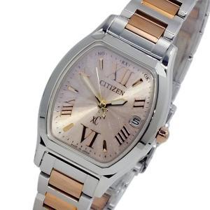 シチズン 腕時計 レディース クロスシー XC エコドライブ CITIZEN 電波 ピンクゴールド|vol8