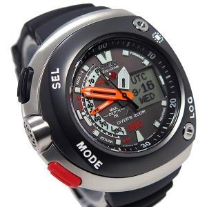 シチズン 腕時計 メンズ CITIZEN 200m防水 グレー/ブラック|vol8