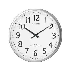 シチズン 掛け時計 かけ時計 メンズ&レディース スリーウェイブ CITIZEN 電波 ホワイト|vol8