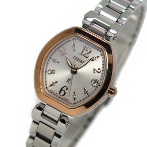 シチズン 腕時計 レディース クロスシー CITIZEN 電波 ソーラー シルバー/ピンクゴールド|vol8