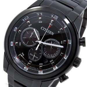 シチズン 腕時計 メンズ エコドライブ CITIZEN クロノグラフ ブラック|vol8