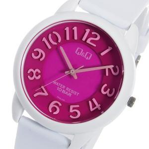 シチズン 腕時計 メンズ&レディース Q&Q CITIZEN ピンク/ホワイト/ピンク|vol8