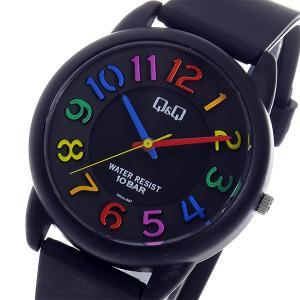 シチズン 腕時計 メンズ&レディース Q&Q CITIZEN ブラック/マルチカラー|vol8