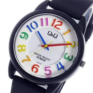 シチズン 腕時計 メンズ&レディース Q&Q CITIZEN ホワイト/ブラック/マルチ|vol8