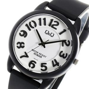 シチズン 腕時計 メンズ&レディース Q&Q CITIZEN ホワイト/ブラック|vol8