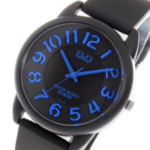 シチズン 腕時計 メンズ&レディース Q&Q CITIZEN ブラック/ブルー|vol8