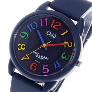 シチズン 腕時計 メンズ&レディース Q&Q CITIZEN ネイビー/マルチカラー|vol8