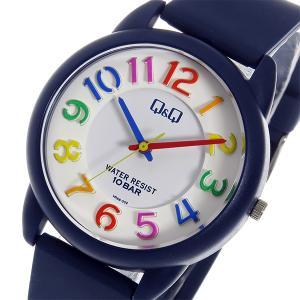 シチズン 腕時計 メンズ&レディース Q&Q CITIZEN ホワイト/ネイビー/マルチ|vol8