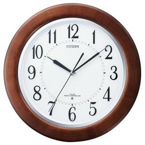 シチズン 掛け時計 かけ時計 メンズ&レディース リバライトF CITIZEN 電波 ホワイト vol8